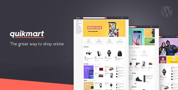 Quickmart Multi-purpose WooCommerce WordPress Theme 1