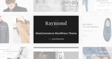 Raymond - WooCommerce Responsive WordPress Theme 2