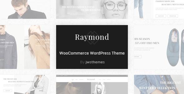 Raymond - WooCommerce Responsive WordPress Theme 1