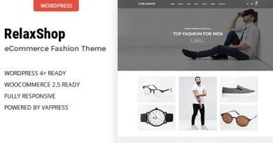 Relaxshop - Fashion WooCommerce WordPress Theme 4