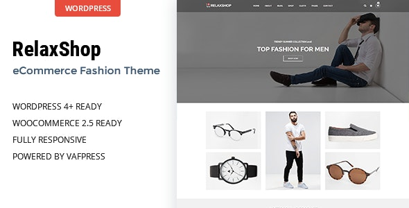 Relaxshop - Fashion WooCommerce WordPress Theme 4