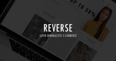 Reverse - WooCommerce Shopping Theme 3