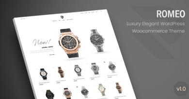 Romeo - Luxury Modern WooCommerce WordPress Theme 3