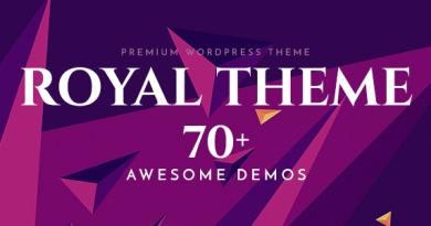 Royal - Multi-Purpose WordPress Theme 3