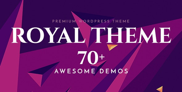 Royal - Multi-Purpose WordPress Theme 1