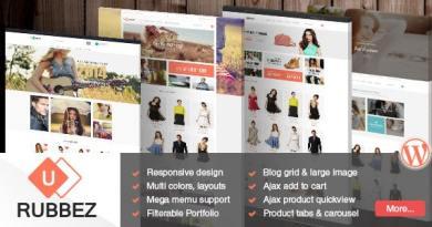 Rubbez- WooCommerce & Corporate WordPress Theme 45