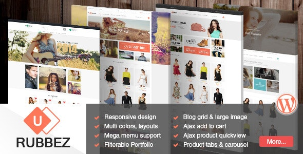 Rubbez- WooCommerce & Corporate WordPress Theme 9