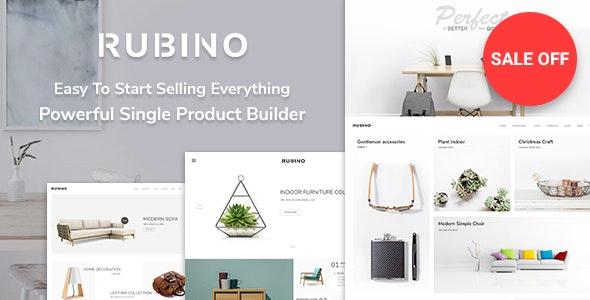 Rubino - Minimal & Creative WooCommerce Theme 1