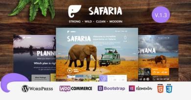 Safaria - Safari & Zoo WordPress Theme 3
