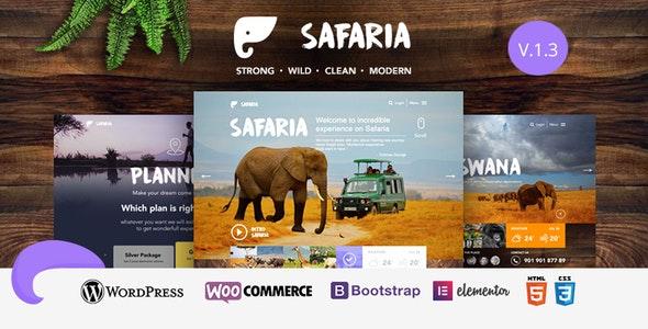 Safaria - Safari & Zoo WordPress Theme 7