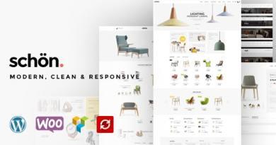 Schön - Modern, Clean & Responsive WooCommerce Theme 3
