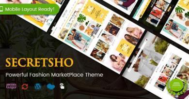 SecretSho - Fashion Shop WordPress WooCommerce MarketPlace Theme (Mobile Layout Included) 3