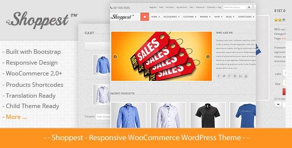 Shoppest - Responsive WooCommerce WordPress Theme 1