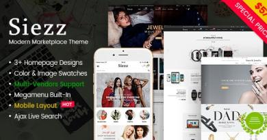 Siezz - Modern Multi Vendor MarketPlace WordPress Theme (Mobile Layout Included) 4