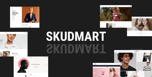 Skudmart - Clean, Minimal WooCommerce Theme 1