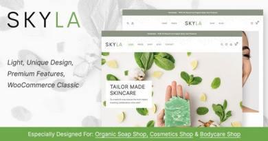 Skyla - Cosmetic WooCommerce Theme 4