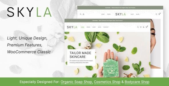 Skyla - Cosmetic WooCommerce Theme 1