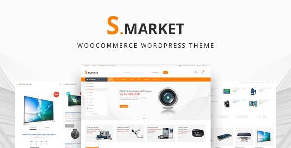 Smarket - Advanced Multipurpose WooCommerce WordPress Theme 1