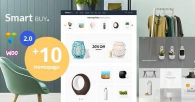 Smartbuy - Shop WooCommerce WordPress For Digital and Garden Home Theme 3
