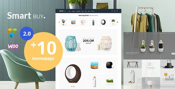 Smartbuy - Shop WooCommerce WordPress  For Digital and Garden Home Theme 1