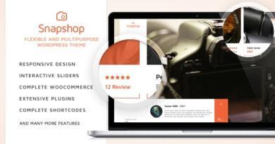 SnapShop - Woocommerce Theme For Gadget Shop 4