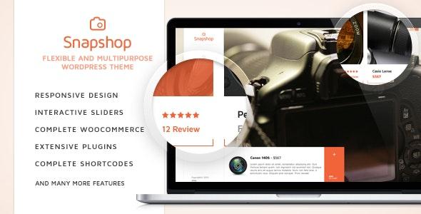 SnapShop - Woocommerce Theme For Gadget Shop 1