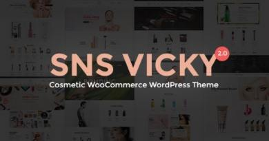 SNS Vicky - Cosmetic WooCommerce WordPress Theme 4