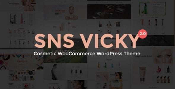 SNS Vicky - Cosmetic WooCommerce WordPress Theme 1