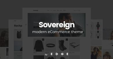Sovereign - Minimal Fashion & Clothing Store Theme 2
