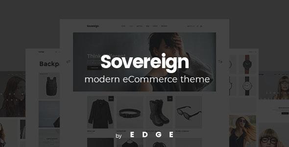 Sovereign - Minimal Fashion & Clothing Store Theme 5
