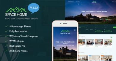 Space Home - Real Estate WordPress Theme 2