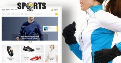 Sport - shop WooCommerce WordPress Theme 2
