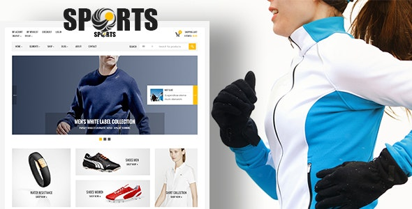 Sport - shop WooCommerce WordPress Theme 1