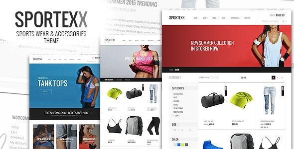 Sportexx - Sports & Gym Fashion WooCommerce Theme 3