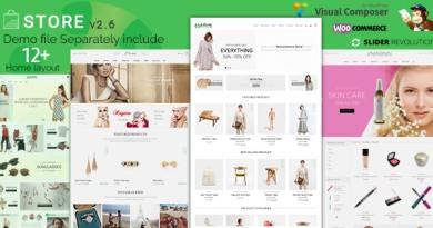 Store - WooCommerce WordPress Theme 6