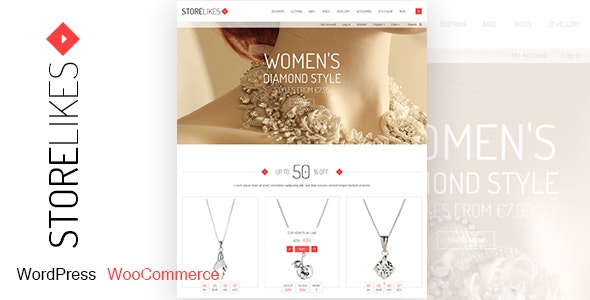 Storelikes - Fashion RTL Responsive WooCommerce WordPress Theme 1