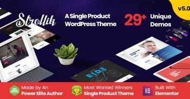 Strollik - Single Product WooCommerce WordPress Theme 4