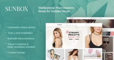 Sunbox Summershop Multipurpose WooCommerce WordPress Theme 2