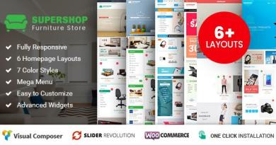 Supershop - Responsive WooCommerce Shopping WordPress Theme (6+ Homepage Layouts Ready) 2