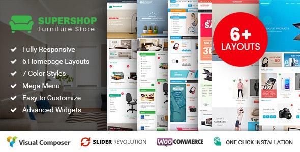 Supershop - Responsive WooCommerce Shopping WordPress Theme (6+ Homepage Layouts Ready) 8