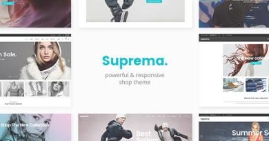 Suprema - Multipurpose eCommerce Theme 54