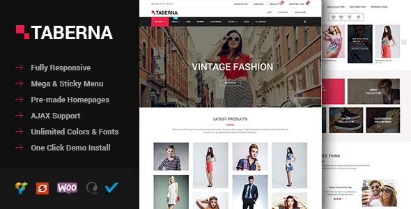 Taberna - Fashion & Electronic WooCommerce Theme 1