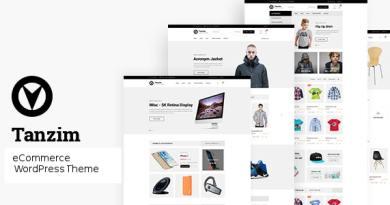 Tanzim - eCommerce WordPress Theme 3