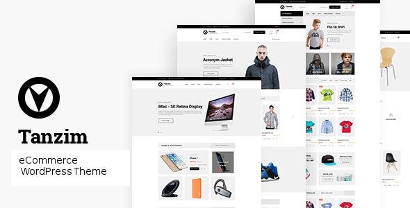 Tanzim - eCommerce WordPress Theme 1