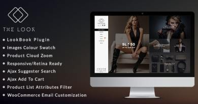 The Look - Clean, Responsive WooCommerce Theme 2