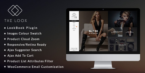 The Look - Clean, Responsive WooCommerce Theme 1
