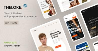 TheLoke - Multi-Purpose & Electronics Store WooCommerce Theme 2