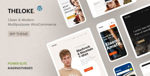 TheLoke - Multi-Purpose & Electronics Store WooCommerce Theme 3