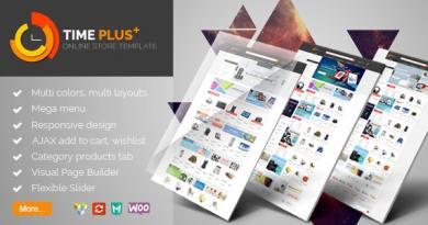 TimePlus - Mega Store Responsive WooCommerce Theme 2