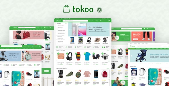 Tokoo - Electronics Store WooCommerce Theme for Affiliates, Dropship and Multi-vendor Websites 1